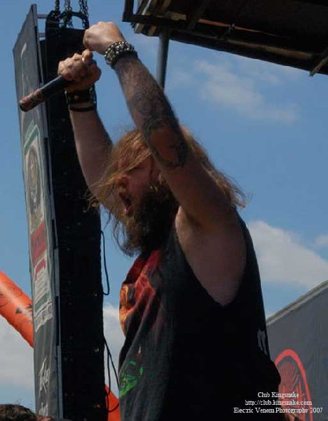 3 Inches Of Blood; Ozzfest 2007;August 12, 2007; Alpine Valley, East Troy,