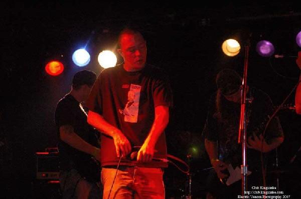 40 oz Fist,  The Rave Bar, Milwaukee WI, July 28, 2007.