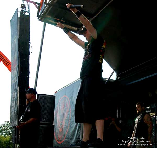Hatebreed; Ozzfest 2007;August 12, 2007; Alpine Valley, East Troy, WI;