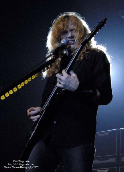 Megadeth at The Rave, Milwaukee WI; September 19, 2007