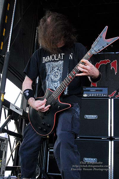 Cannibal Corpse; First Midwest Bank Amphitheatre; Mayhem Fest 2009.