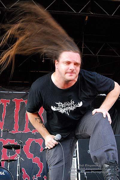 Cannibal Corpse; First Midwest Bank Amphitheatre; Mayhem Fest 2009.