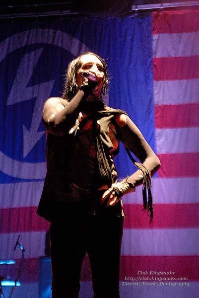 Marilyn Manson; First Midwest Bank Amphitheatre; Mayhem Fest 2009.