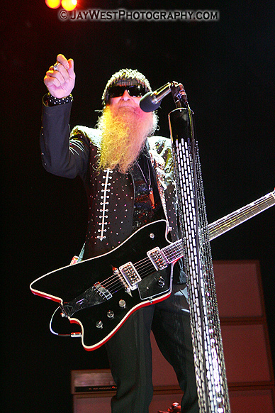 Billy F. Gibbons of ZZ TOP