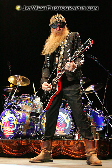 Billy F Gibbons of ZZ TOP