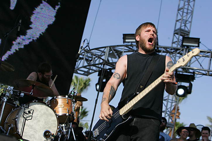 Against Me at Coachella