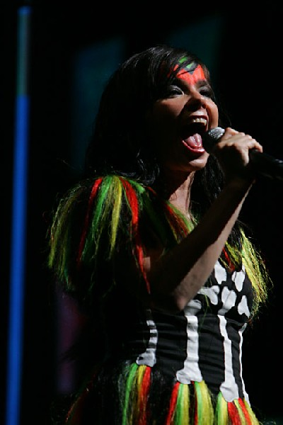 Bjork at Coachella
