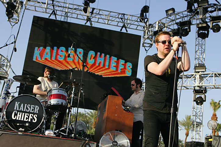 The Kaiser Chiefs at Coachella