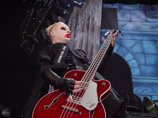 Manson Bass Player