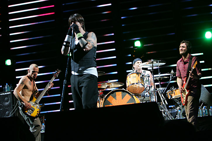 The Red Hot Chili Peppers at Coachella