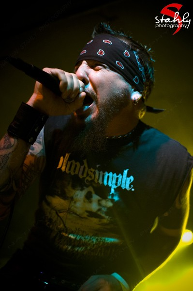 Chad Grey from HELLYEAH