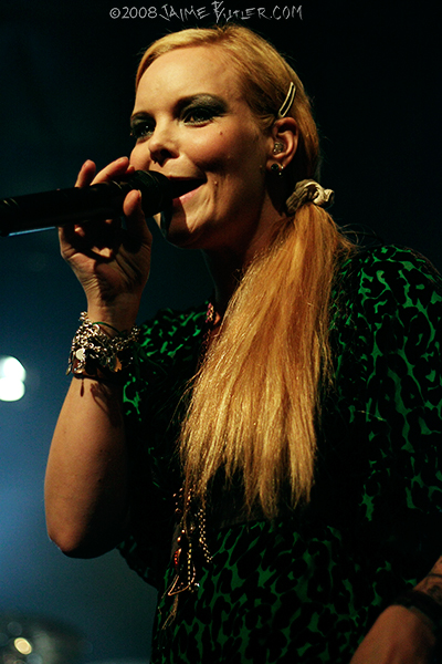 Anette Olzon of Nightwish