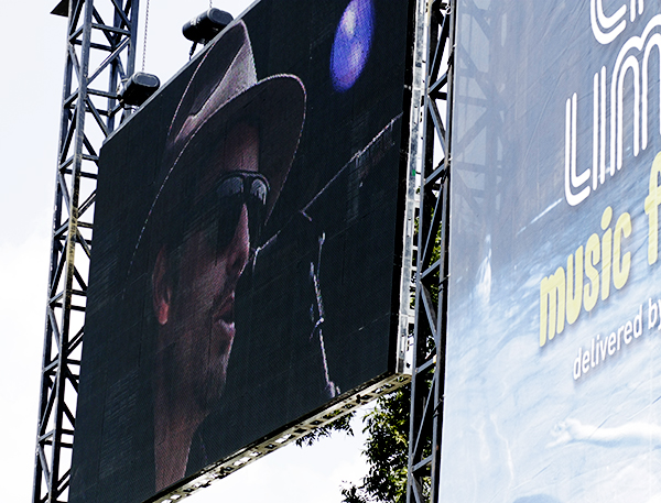 Jakob Dylan on ATT&T Stage at ACL 9/26/08