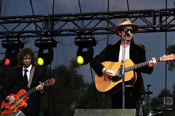 Jakob Dylan on the ATT&T Stage at ACL 9/26/07