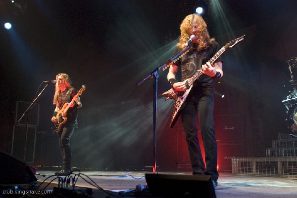 Megadeth at Gigantour 2008