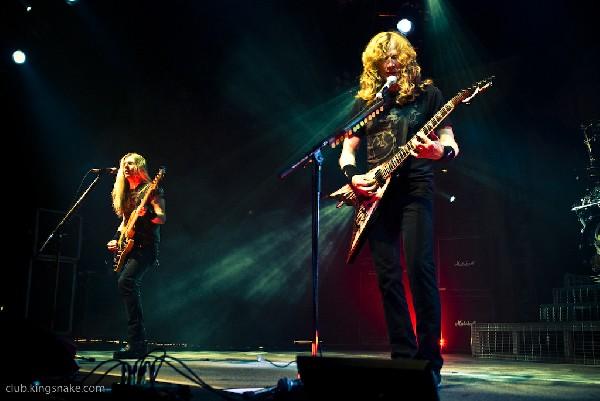Megadeth at Gigantour 2008