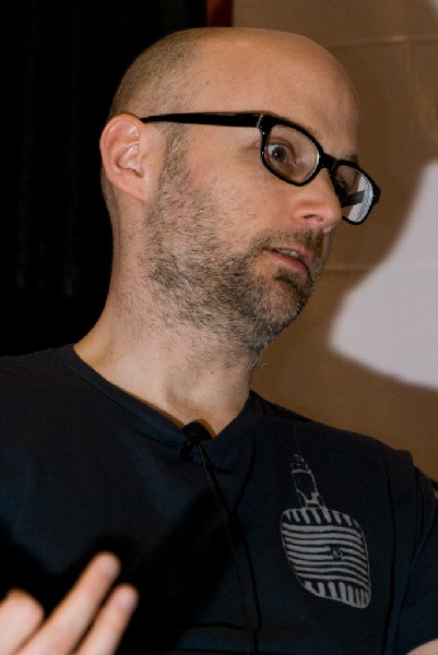 Moby at SXSW 2008