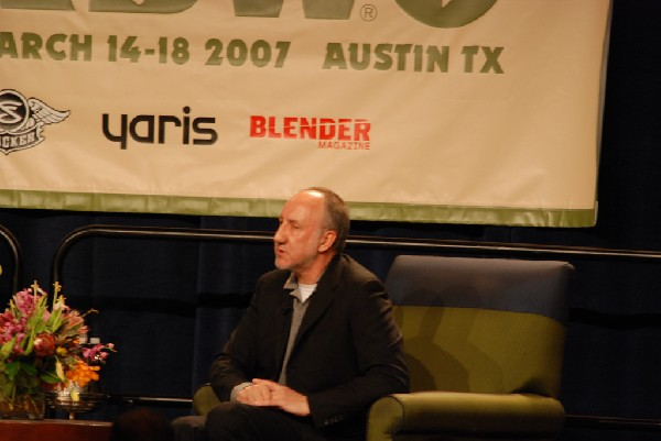 Pete Townsend Keynote Interview at SXSW 2007