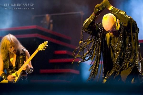 Judas Priest at the Molson Amphitheatre.  Toronto, Ontario