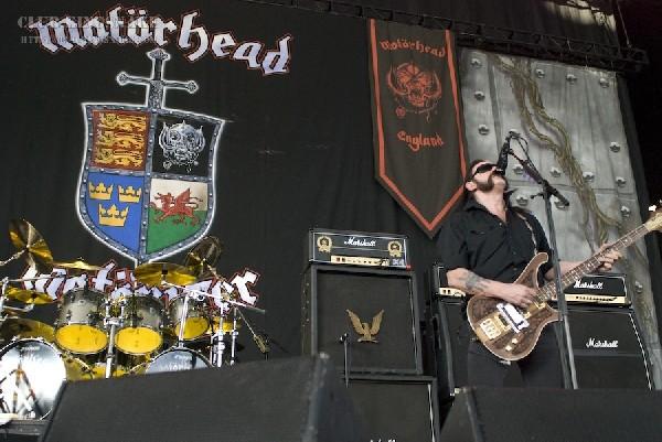 Motorhead at the Molson Amphitheatre.  Toronto, Ontario