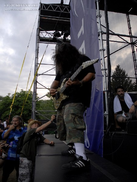 Deftones at Wakestock 2007.  July 28, 2007