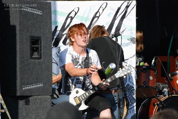 Bless The Fall at The Vans Warped Tour.   August 11, 2007.