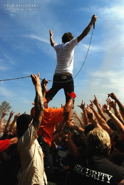 Chiodos at The Vans Warped Tour 2007