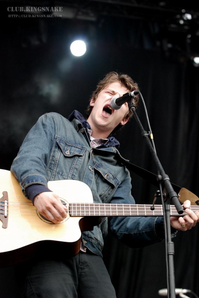 Jamie T at the Virgin Festival