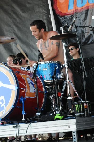 3OH!3 at Warped Festival, San Antonio, Texas