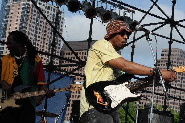 AZ-One at the Austin Reggae Festival