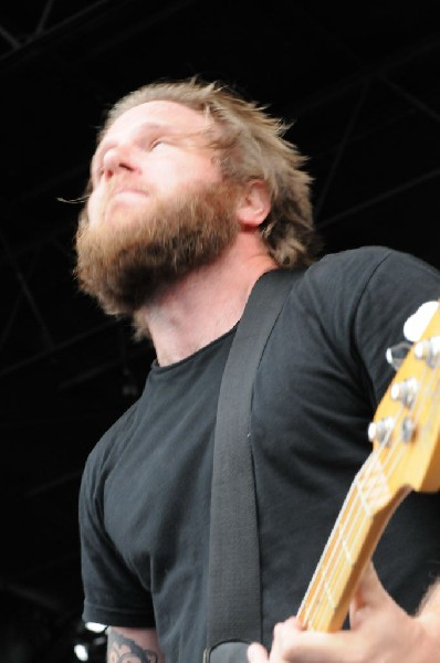 Against Me! on the Highway 1 Stage, Warped Tour, Verizon Wireless Amphithea