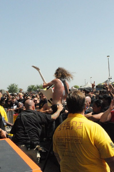Airbourne at the Mayhem Festival Verizon Wireless Amphitheater