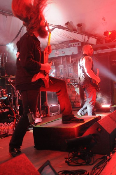 All That Remains  at Stubb's BarBQ, Austin, TX 12/01/12 - photo by Jeff Bar