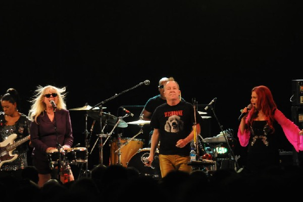 The B-52s at Stubb's BarBQ, Austin, Texas - 11/02/11 - photo by jeff barrin