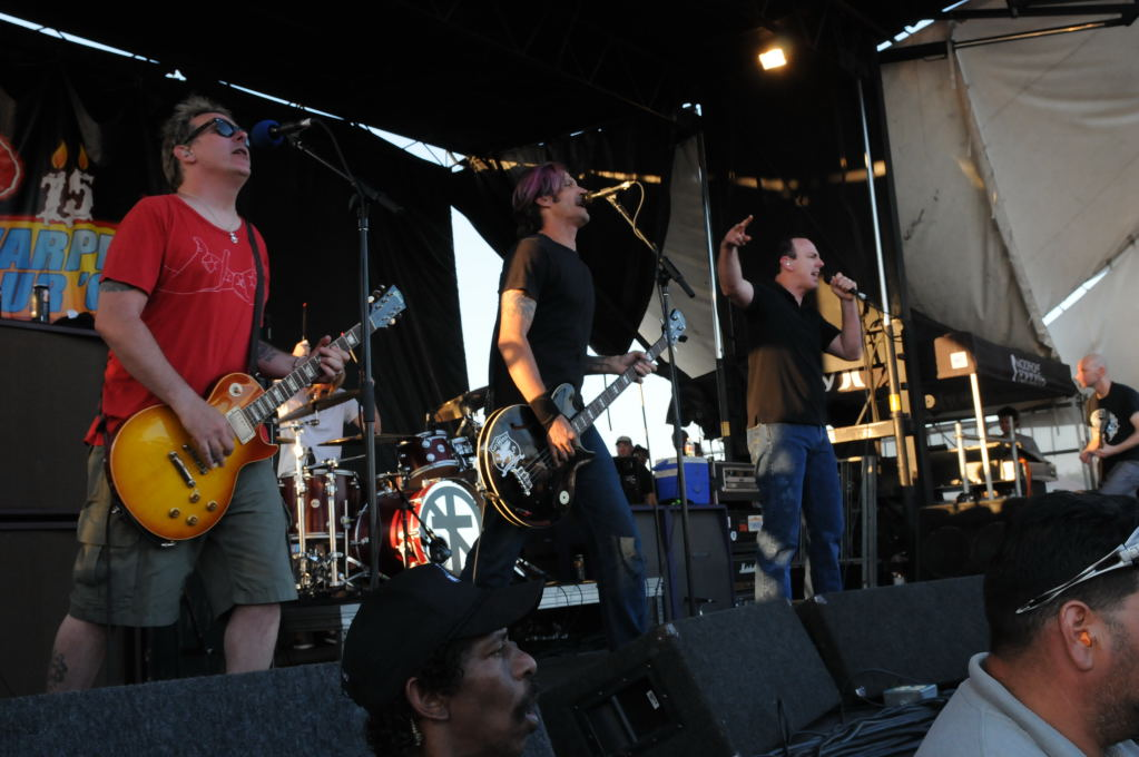 Bad Religion at Warped Festival