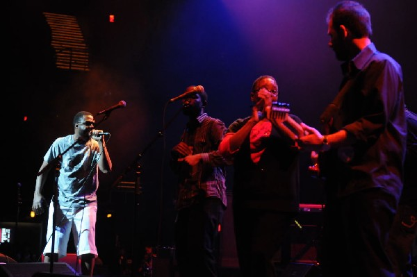 Bavu Blakes performs at the AMP Launch Party at ACL Live at the Moody Theat