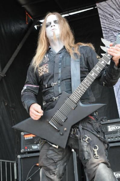 Behemoth at the Mayhem Festival 2009 at the AT&T Center, San Antonio, T