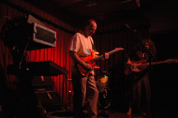 Adrian Belew Trio at the Cactus Cafe in Austin, Tx