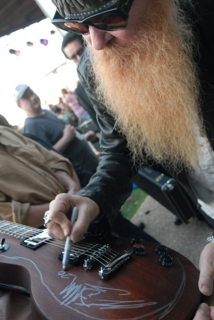 Billy Gibbons at Roky Erickson's 2008 Ice Cream Social