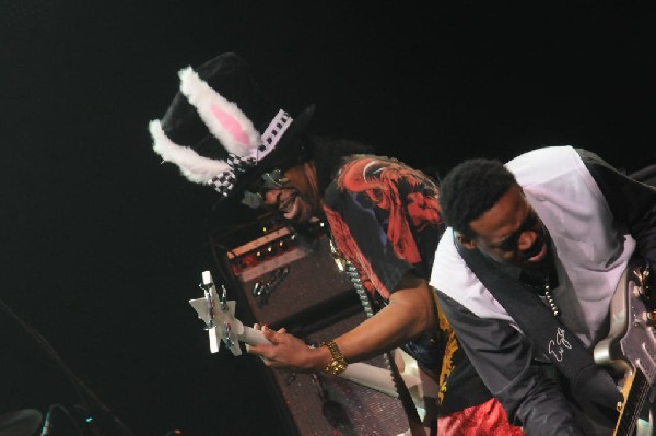 Bootsy Collins on the Experience Hendrix Tour, ACL Live at the Moody Theate