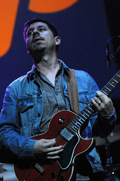 Brownout performs at the AMP Launch Party at ACL Live at the Moody Theater,