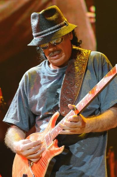 Carlos Santana at the Verizon Wireless Amphitheater