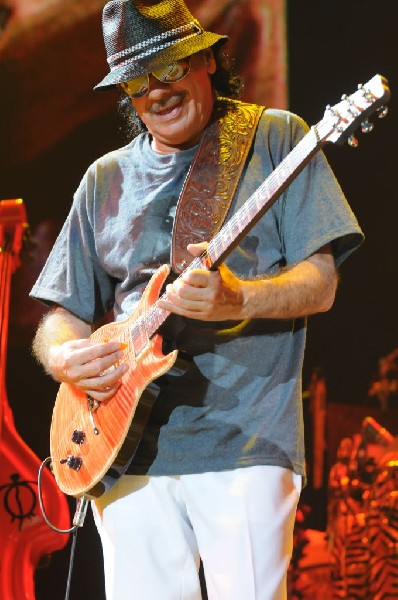 Carlos Santana at the Verizon Wireless Amphitheater