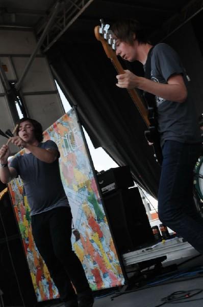 Dance Gavin Dance at Warped Festival, San Antonio, Texas