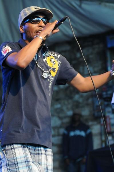 Del The Funky Homosapien at Stubb's BarBQ, Austin Texas 04/20/10