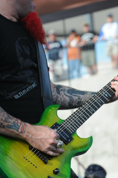 Dimebag Tribute at Ozzfest 2008