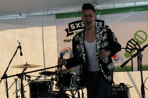 Esser at Transgressive Records Party, SXSW 2009, Austin, Texas