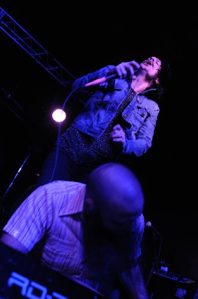 Foxy Shazam at La Zona Rosa, Austin, Texas 10/19/11 - photo by Jeff Barring