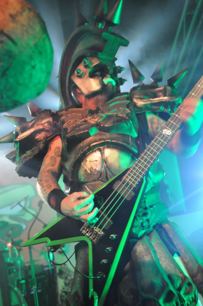 Beefcake the Mighty of GWAR at La Zona Rosa