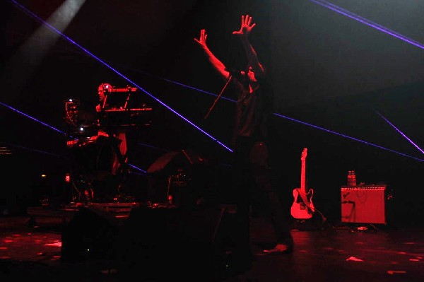 Ghostland Observatory performs at the AMP Launch Party at ACL Live at the M